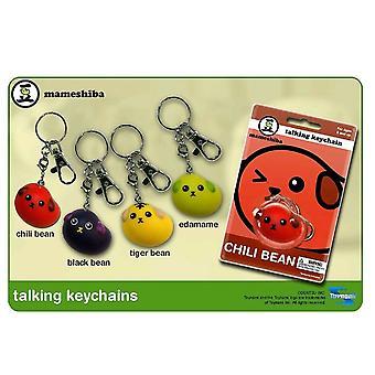 Mameshiba Talking Keychain ASST