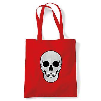 Skull Face, Tote - Cadeau de sac de toile d'achat réutilisable