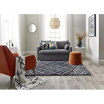 Andante 6628D weiß BLAU Rechteck Teppiche traditionelle Teppiche