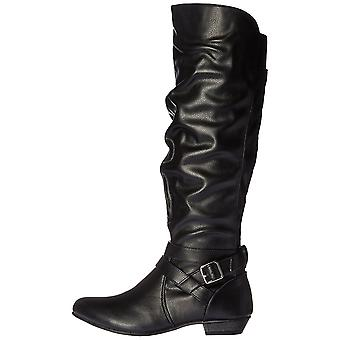 Fergalicious Womens Lara Closed Toe Knee High Fashion Boots