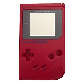Replacement housing shell case repair kit for nintendo game boy dmg-01 - red wine
