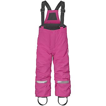 Didriksons Idre 3 Bambini Junior Shai Pantaloni Salopettes Rosa plastica