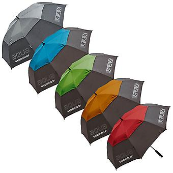 Big Max Aqua Dual Canopy Lightweight Soft Grip Golf Umbrella