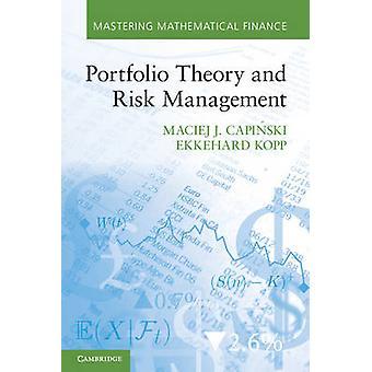Portefeuille theorie en risico management door Maciej J Capinski & Ekkehard Kopp