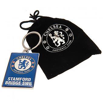 Chelsea FC Unisex Adulti Deluxe Keyring