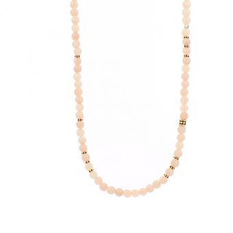 Collier et pendentif Les Interchangeables A59320   - Sautoir Bobo Chic Rose Femme