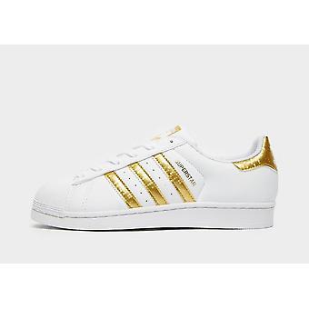 New adidas Originals Kids' Superstar Trainers White