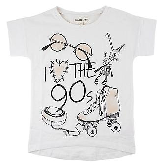 Small Rags Girls T-Shirt Le 90 'apos;S