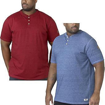 D555 Men/'s Jaiden Regular Short Sleeve Shirt /& T Shirt Pack