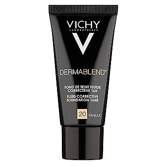 Vichy Dermablend Fluid Corrective Foundation 30ml-20 Vanilla