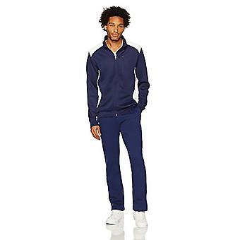 Starter Men's Open-Bottom Sweatpants with Pockets,  Exclusive, Team Nav...