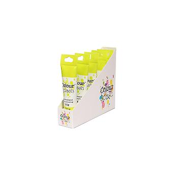 Farbe Splash Gel - Lime - 25g X 5