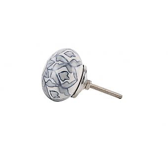 CGB Giftware Ceramic Flower Drawer Pull Handle Knob