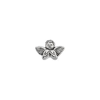 925 Sterling Silver 11x16mm Polished Praying Religious Guardian Angel Lapel Pin Jewelry Gifts for Men