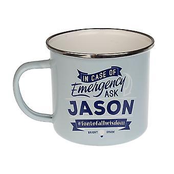 Histoire et Héraldique Jason Tin Mug 51