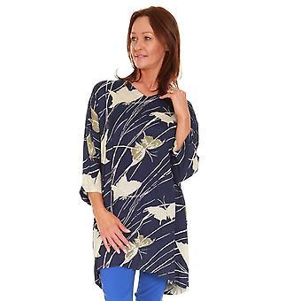 MASAI CLOTHING Masai Navy Tunic Garden 1000753