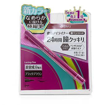 Lasting Fine Brush Liquid Eyeliner - Black Brown 0.55ml/0.018oz