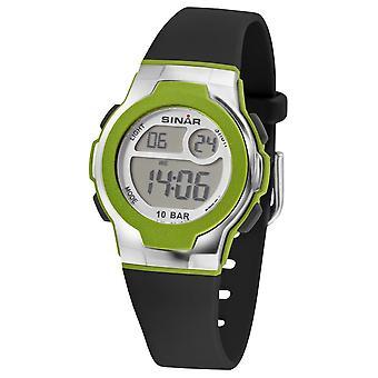 SINAR Youth Watch Kids Wristwatch Digital Quartz Unisex Vert XF-60-3