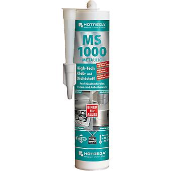 HOTREGA® MS 1000 high-tech lijm en kit, 310 ml cartridge, metallic