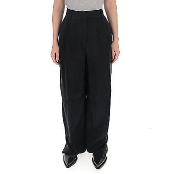 Maison Flaneur 20smdpa547tp125black Women's Black Other Materials Pants