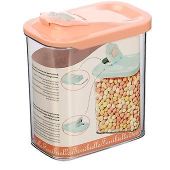Ferribiella Cookies Jar 1700Ml-15,8X9,8X18,5 (Dogs , Bowls, Feeders & Water Dispensers)