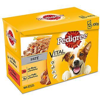Pedigree Multipack Comida Húmeda en Paté Sabores Mixtos para Perros Adultos