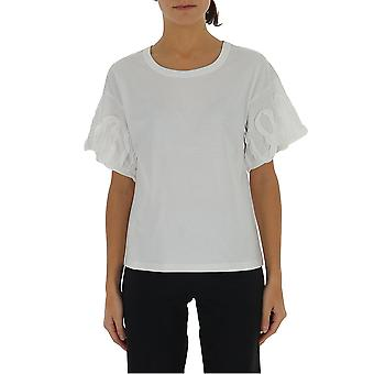 See By Chloé Chs20sjh33081109 Women's White Cotton T-shirt