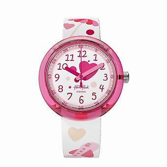 Flik Flak Watches Fpnp027 Summer Fun Textile Watch
