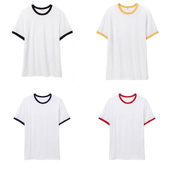 Alternativa Apparel Mens 50/50 vintage Jersey Ringer T-shirt