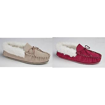 Mokkers Womens/Ladies Emily Moccasin Slippers