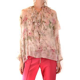Ralph Lauren Ezbc037199 Kvinder's Flerfarvet silkebluse