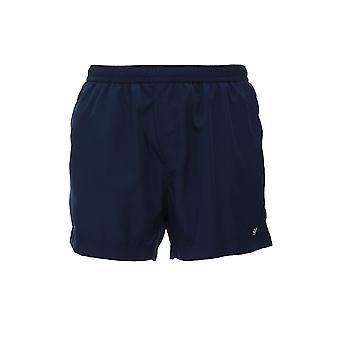Z Zegna N7b540410412 Men's Blue Polyester Trunks