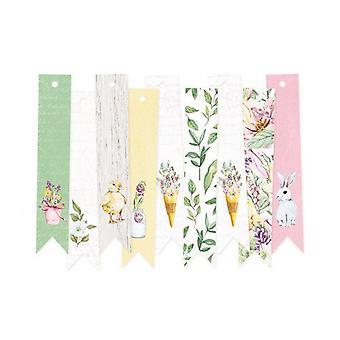 Piatek13 - Decorative tags The Four Seasons - Spring 03 P13-SPR-23