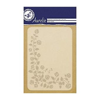Aurelie Flower Festival Background Embossing Folder