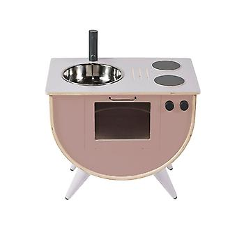 Sebra - play kitchen - sunset pink
