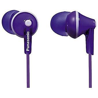 Hörlurar Panasonic RP-HJE125E in-ear Violet