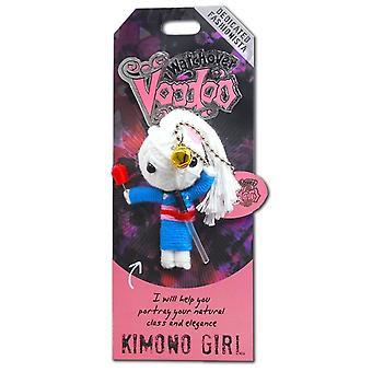 Waakover Voodoo Dolls Kimona Meisje Voodoo Sleutelhanger