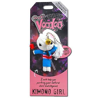 Watchover Voodoo Dolls Kimona Girl Voodoo Keyring