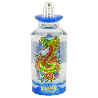 Ed Hardy Villain Eau De Toilette Spray (Tester) By Christian Audigier 4.2 oz Eau De Toilette Spray