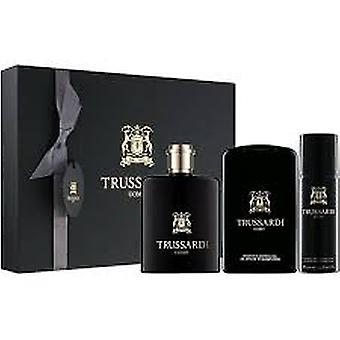 Trussardi Uomo Gift Set 100ml EDT + 200ml Shower Gel + 100ml Desodorante Spray