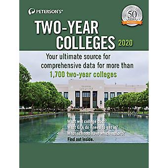 Two-Year Colleges 2020 by Peterson's - 9780768943283 Book