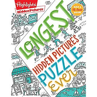 Longest Hidden Pictures Puzzle Ever by HIGHLIGHTS - 9781684376483 Book