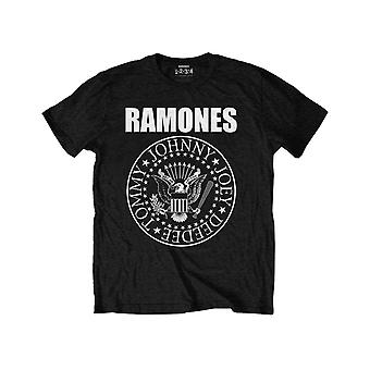 Ramones Kids T Shirt Presidential Seal Band Logo Official Black Ages 1-15 yrs
