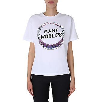 Ps By Paul Smith W2r031vap181201 Women's White Cotton T-shirt
