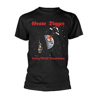 Grave Digger Heavy Metal Breakdown Official Tee T-Shirt Mens Unisex