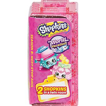 Shopkins World Vacation Two Shopkins in a Twin Room (Series 8, Wave 2)