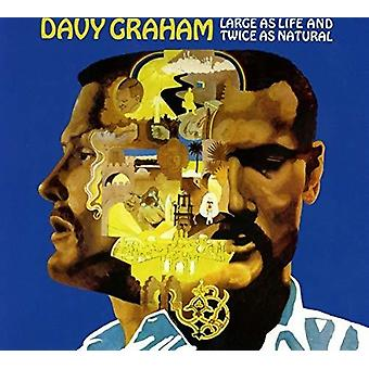 Graham*Davy - Large as Life & Twice as Natural [CD] USA import