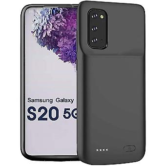 Batterieschale 4800mAh - kompatibel mit Samsung Galaxy S20 - schwarz