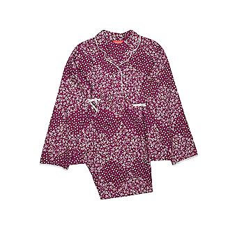 Minijammies Nova 5643 Girl's Berry Disty Print Pyjama Set