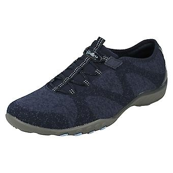 Ladies Relaxed Fit From Skechers Slip On Trainers Opportuknity 23855